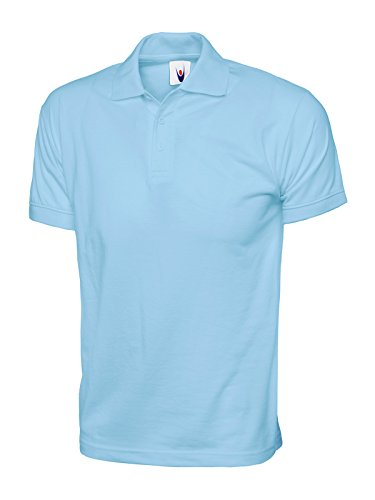 Uneek Mens Short Sleeve Polo Shirt Navy