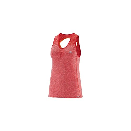Salomon Debardeur Elevate Seamless Tank Infrared