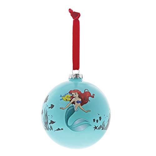 Enchanting disney palla di natale la sirenetta, multi-colour, taglia unica