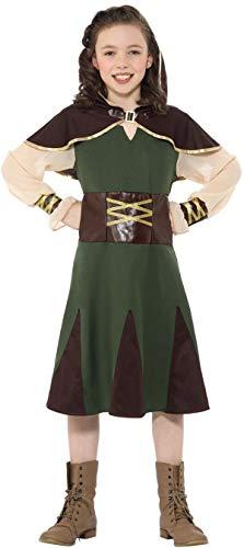 Smiffys Robin Hood Mädchen Kinderkostüm Karneval Jäger - Jäger Kostüm Mädchen