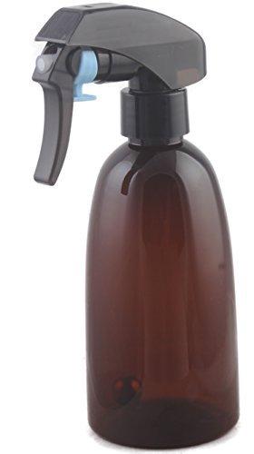 Vaporisateur en plastic pour salon de coiffure, avec gâchette à vaporiser, 150 ml, bille lourde à l'intérieur, vaporise sur 360 degrés (lot de 1)