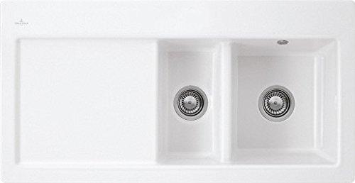 Villeroy & Boch Subway 60 XR Edelweiss Weiß Keramikspüle Einbau-Spülbecken Küche