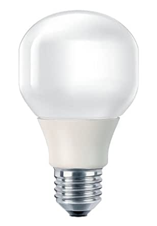 Philips 929753130701 Standard Compact Fluorescent Light Bulb Base E27 16 Watts Consumed