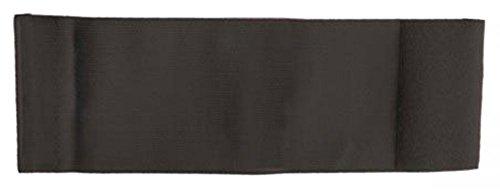 Unbekannt größenverstellbare Armbinde/Mediaband bedruckt mit IHREM INDIVIDUELLEM TEXT (SENIOR 25-36 cm) (Farbe schwarz)