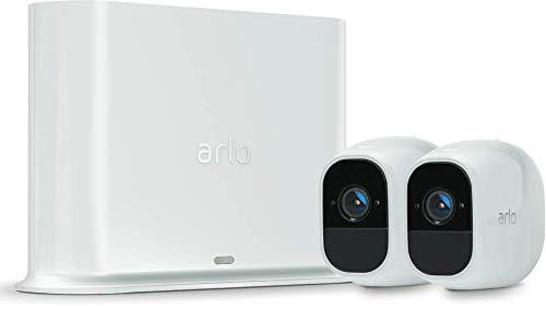 31xVZcEXPqL [Bon Arlo !  Arlo Pro 2 - Smart caméra de surveillance, Paquet de 2, 1080p HD jour/nuit, grand angle 100% Sans Fils - VMS4230P-1...
