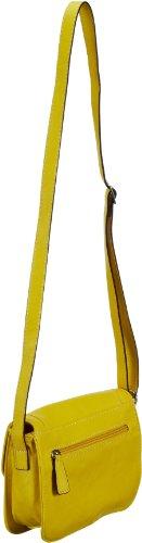 Gerry Weber Eyes Flap Bag S 4080002144, Damen Schultertaschen 20x15x6 cm (B x H x T) Gelb (light yellow 151)