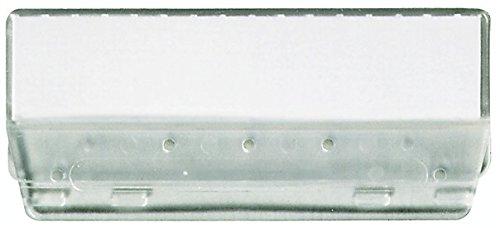 Durable 189319 Reiter (für Hängeregistratur aus Kunststoff) Packung à 25 Stück farblos