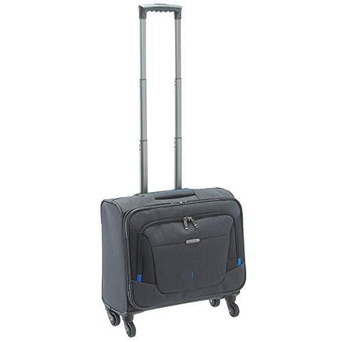 Travelite Organisiert verpackt: Mehrteilige Business-Gepäckserie @work für Ihre erfolgreiche Geschäftsreise Laptop Rollkoffer, 45 cm, 32 Liter, anthrazit