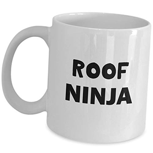 Funny Coffee Mug Gift Roofer Funny Cute