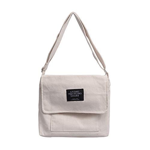 Winkey Damen Party Tasche, Frauen Canvas Joker Cute Messenger Tasche Schultertasche Small Square Tasche - Cute Canvas Taschen