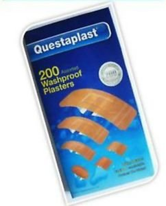 200-washproof-waterproof-plasters-assorted-water-resistant-first-aid-band-aid