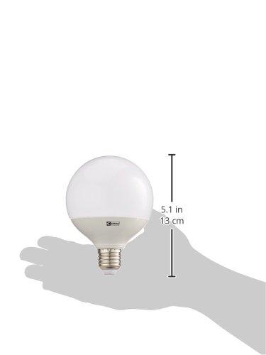 EMOS LED Glühlampe Classic Globe 11,5W E27 Warmweiß, Glas, 11.5 W, Transparent, 10 x 10 x 14 cm