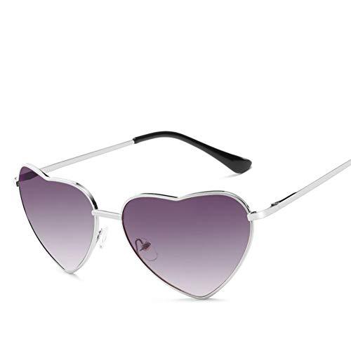 SUNNYJ Sonnenbrille Herz Sonnenbrille Frauen Cat Eye Sonnenbrille Retro Love Heart Shaped Glasses Ladies Sunglass 11