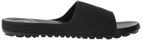 FitFlop Herren Lido Slide Sandals in Neoprene Peeptoe Schwarz (Schwarz)