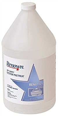 RENOWN GIDDS2-303425 Dry Carpet System Pretreat, 1 gallon