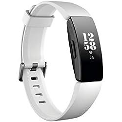 Fitbit Inspire HR Monitores de Actividad, Adultos Unisex, Blanco/Negro, Talla única