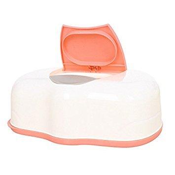 TOOGOO(R) Gewebe Fall Feuchttücher Box Kunststoff wet Tissue Automatische Fall Care Zubehör Drücken Pop-Up Design £ ¨ Farbe zufällige £ ©