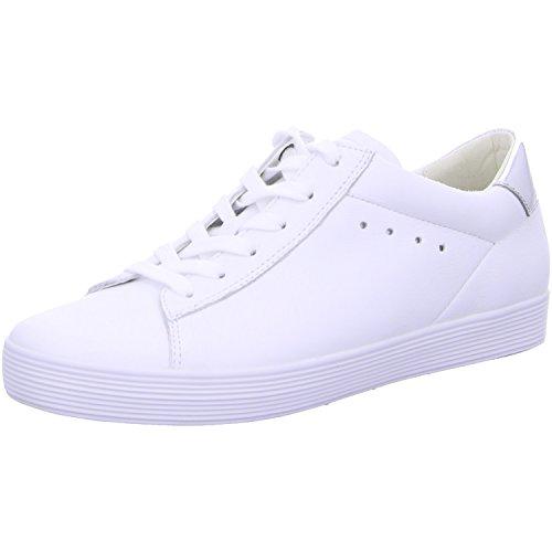 Gabor 66.445 Damen Sneakers weiss/silber