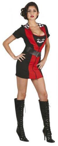 DamenKostüm (Racing Girl Kostüm Kostüme)