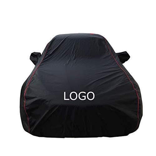 AUDI Autoabdeckung Schattierung Isolierung Autoabdeckung Kleidung Mit Auto Logo Wasserdicht Atmungsaktiv Sonne Allwetterschutz Passform AUDI-A7, AUDI-A8, AUDI-S6, AUDI-S7, AUDI-S8, AUDI-RS5, AUDI-A4,