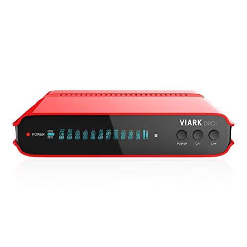 viark droi 4 K 2160p H.265 hevc Digital Combo Android 7.0 & DVB-C/T2 Receptor