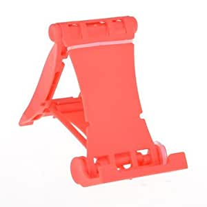 Universal Desk Station Plastic Stand Holder For Mobile Phone-Pink