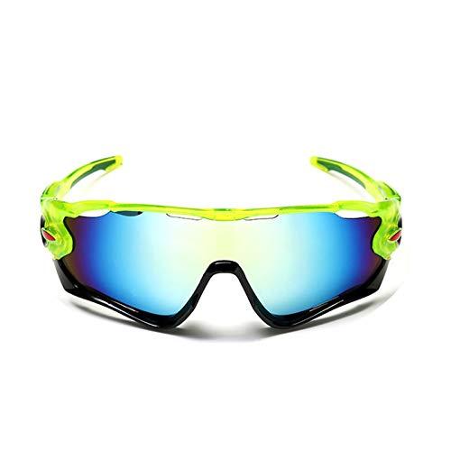 Beydodo Schutzbrille Antibeschlag Winddichte Brille Sport Grün Schwarz Gold Sonnenbrille Schutzbrille zum Schießen