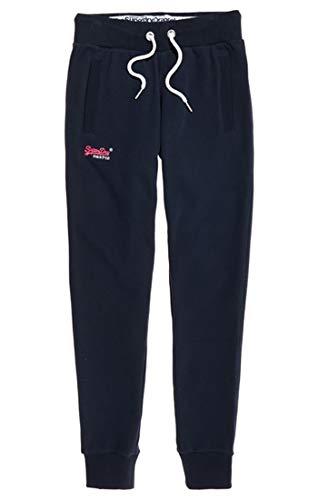 Superdry Damen Orange Label Joggers Sporthose,Blau (Eclipse Navy 98T),40 (Herstellergröße: 12) (Damen Blaue Jogginghose)