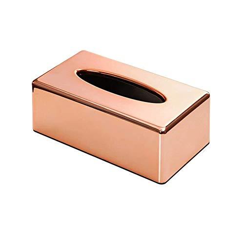 Überzug Rose Gold Tissue Box Wohnzimmer Haushalt Küche Fach Büro Kreative Schublade Box