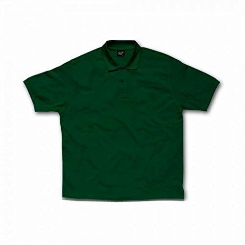 Polo à manches courtes SG pour femme Vert