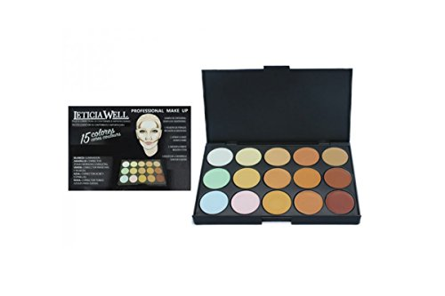 Palette contouring & correctrice - teint - Camoufler / illuminer / imperfection - Professionnel Leticia well