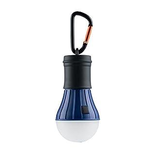 AceCamp Camping Led Lights Battery Powered + Carbine I Tent I Lamp I Lantern Light I Waterproof I Blue I 10286-ace