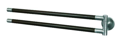 46.5 x 4.5 x 5.5 cm Bisk 00990 Side Porta asciugamani con braccio oscillante