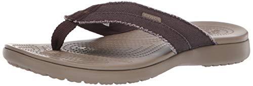 Crocs Santa Cruz Canvas Flip Men