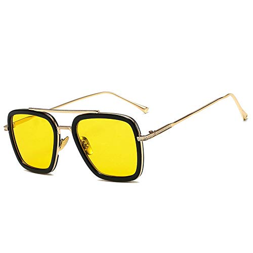 LIUSY401 Iron Man Sunglasses Downey's Avenger Alliance Fashion Box European and American Wholesale of Sunglasses for Men and Women