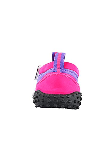 2aeb3f5071e Aqua Shoes - Wet Shoes for Adults Neoprene Water Shoes (Raspberry/Lilac, UK  5)