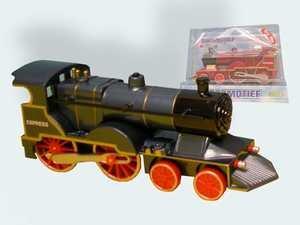 Van Manen 510603 - Lokomotive 3-fach mit Licht und Schall