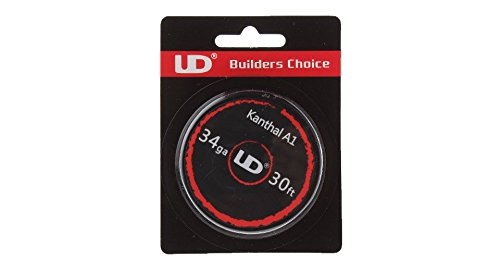 UD Youde Draht, Kanthal A1, 34AWG / 0,16mm, | preispiraten.de ...