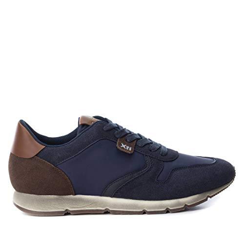 'Zapato DE Hombre XTI Basic Plano con Cierre DE Cordones' - para: Hombre Color: Navy Talla: 40
