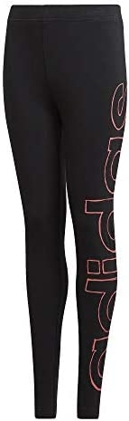 adidas Girls' YG LOGO TIGHT Ti