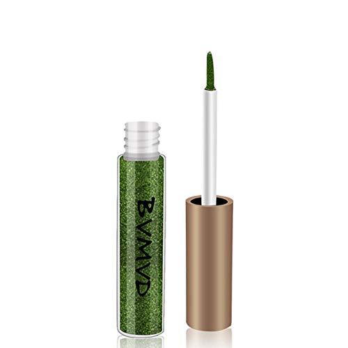 Luckhome Farben Schimmer Matt Mineral Pigment Lidschatten Palette Nude Beauty Make up (F) - Mineral Essence Make-up