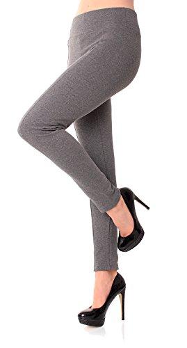 Easy Young Fashion -  Pantaloni  - Donna Grigio