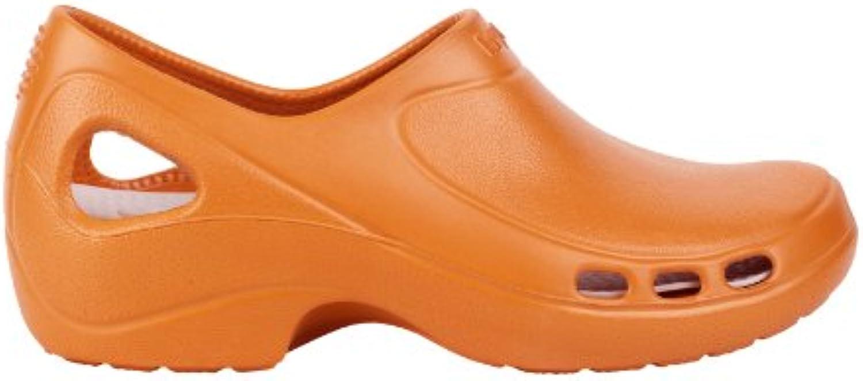 wock professionnel everlite chaussures fermé talon; super super super lumière; antislip; l'absorption des chocs orange royaume uni: 6.b00bp3qqww parent 20968d