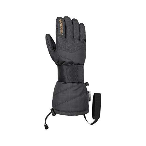 Reusch Baseplate R-TEX XT Herren Handschuhe, Black Melange/Gold, 9