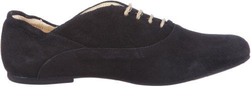 Jonny's Jette J-17039, Chaussures à lacets mixte adulte Noir suède