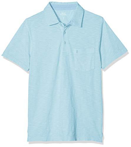 Izod Herren Poloshirt Dockside SOLID SLUB Polo Grün (Petit Four 455) Large (Herstellergröße: LG) - Izod-baumwolle Polo-shirt
