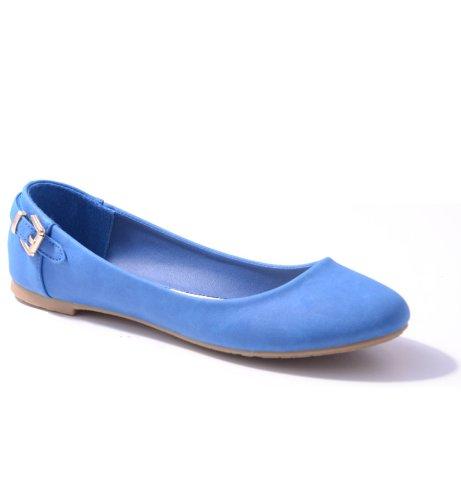 Damen Ballerinas in verschiedenen Farben Blue