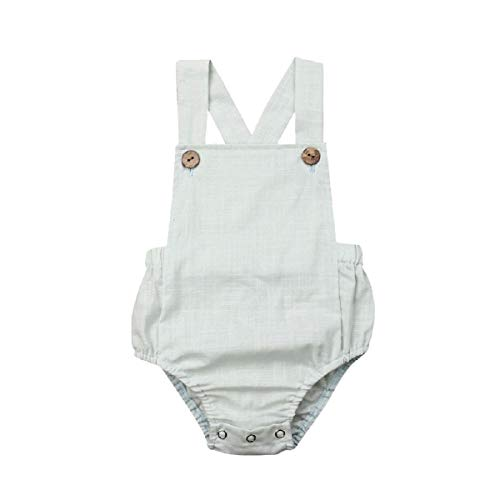 Liusdh-baby girl Romper Jumpsui Baby Mädchen (0-24 Monate) Spieler Minzgrün mintgrün 90 -