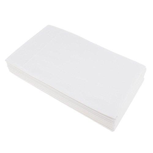 Fenteer 10er Set Einweg Vlies Papier Tisch Bett Spannbettlaken, Weich, 180 x 80 cm - Weiß