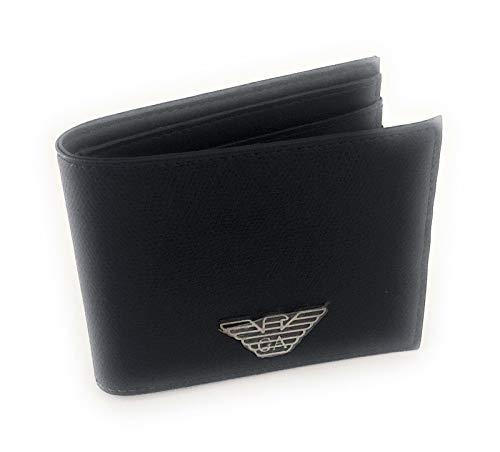 Emporio Armani cartera hombre billetera bifold nuevo